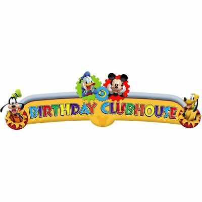 Disney Mickey Mouse Clubhouse Playtime Kids Birthday Party Decoration Banner