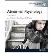 Abnormal Psychology Butcher