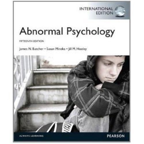 abnormal psych 12 Normal vs abnormal psychology psychology is defined as the scientific investigation of mental processes and behavior (kowalski & westen, 2011.