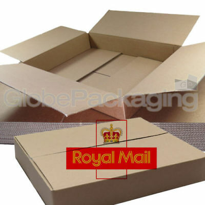 10 x MAXIMUM SIZE ROYAL MAIL SMALL PARCEL PACKET POSTAL BOX 449mm x 349mm x 79mm