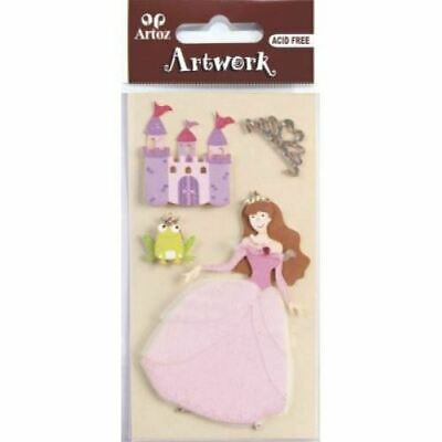 t Embellishment Scrapbooking Card Topper Stickers (Castle Craft)