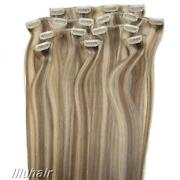 Blonde and Brown Hair Extensions