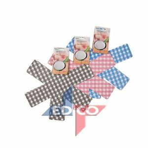 2 PACK (6pc) NON SLIP PAN PROTECTORS 38cm Various Colours