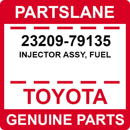 23209-79135 Toyota Oem Genuine Injector Assy, Fuel