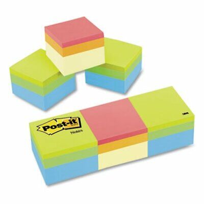 Post-it Notes Mini Cubes 2 X 2 Assorted Colors 3 400-sheet Pads Mmm20513pk