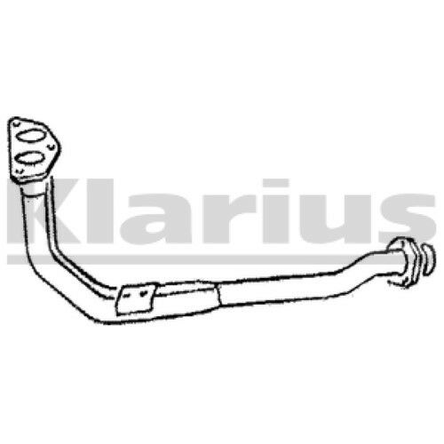1x KLARIUS OE Quality Replacement Exhaust Pipe Exhaust For VOLVO Petrol