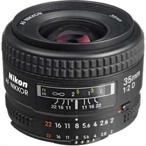 Do you have a Nikon 35mm F/2 D that you're not using?