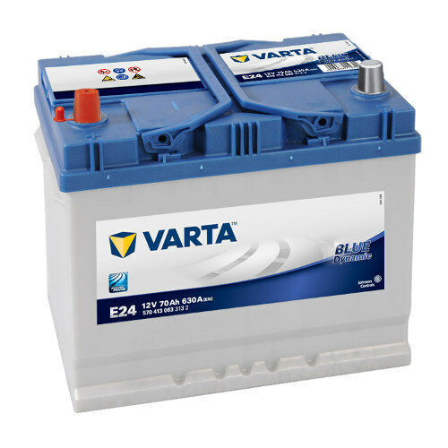 Varta Blue Dynamic E24 70AH Premium Car Battery starterbatterie 570413063 NEW