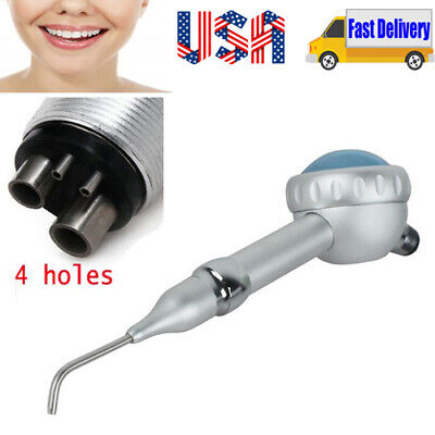 Dental Air Flow Teeth Rotation Polisher Handpiece Hygiene Prophy Lab Tool 4hole