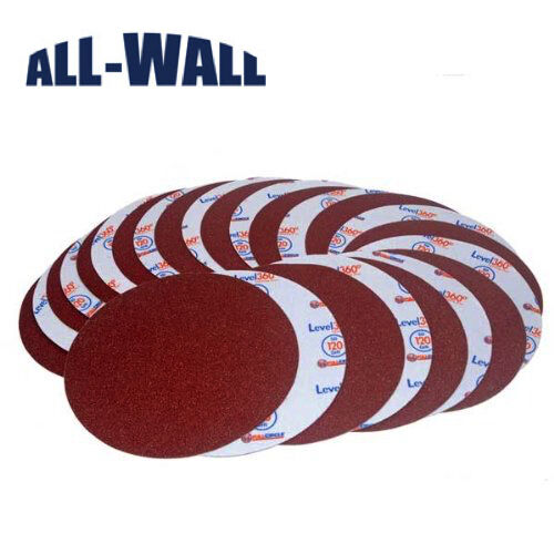 "Radius 360 Drywall Sanding Discs, 9"" 300-Grit *25-Pack* Fits PC 7800"
