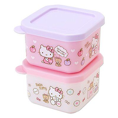 SANRIO Hello Kitty lunch case S 2 pieces set(apple) from Japan F/S