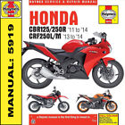 Honda CBR Haynes Motorcycle Repair Manuals & Literature