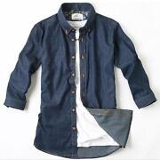 Mens Denim Jean Shirt