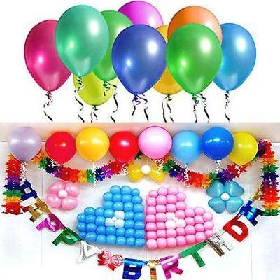 20/50/100  Birthday Wedding Baby Shower Party Decor Pearl Latex Balloons 10