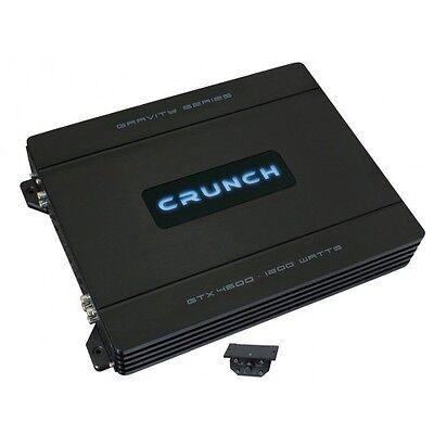 CRUNCH GTX-4600 4-Kanal Verstärker GRAVITY AMP GTX4600 4 x 80/150 Watt RMS