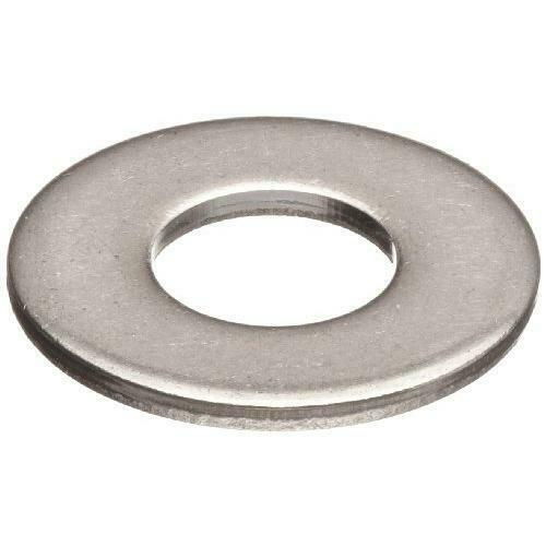 "50 Qty 1/2"" Stainless Steel SAE Flat Finish Washers (BCP672)"
