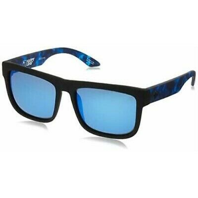 SPY Optic Discord 673119845503 Matte Black Blue Happy Lens Sunglasses (Spy Optic Discord)