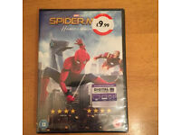 Spider-Man Homecoming DVD New