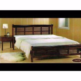 Brand NEW QUEEN Bed FRAME - Still in Boxes - solid wood