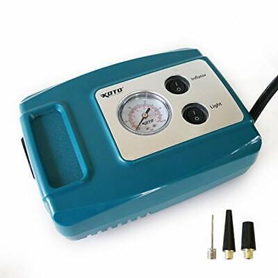 Koto 12V DC Portable Air Compressor Pump, Compact Tire Infla