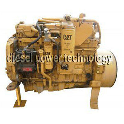Caterpillar 3204 Remanufactured Diesel Engine Extended Long Block Engine