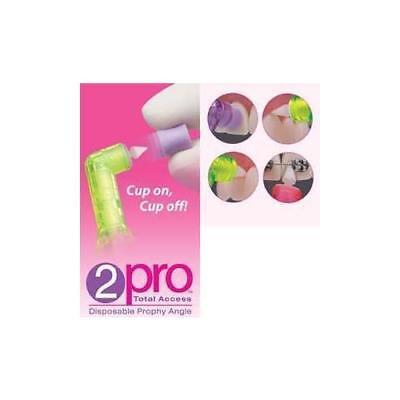 Premier Dental 5500101 2pro Disposable Prophy Angles Soft Short Purple Cup 144pk