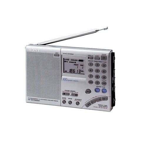 sony icf-sw7600gr world band am fm digital radio