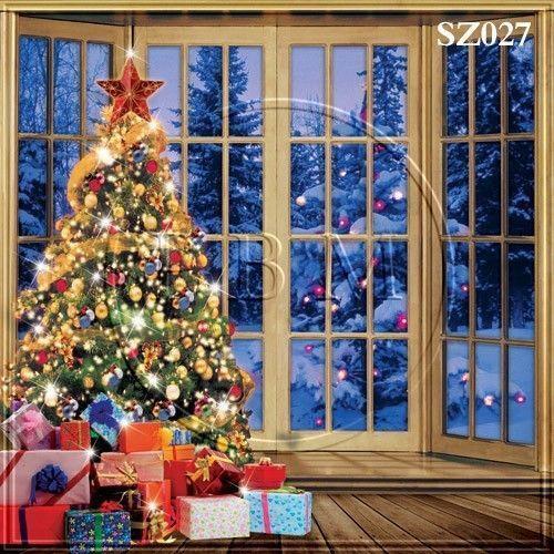 Christmas Photo Backdrop 10x10 Ebay