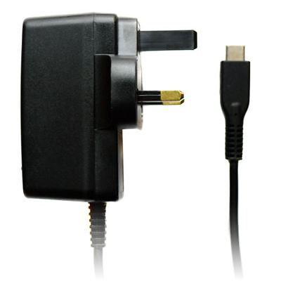 GB 3 Patillas Negro Red Eléctrica Viaje Cargador Adaptador de Enchufe USB...