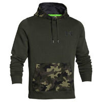 Under Armour All Season Gear Rival Night Vision Hoodie LARGE NEW