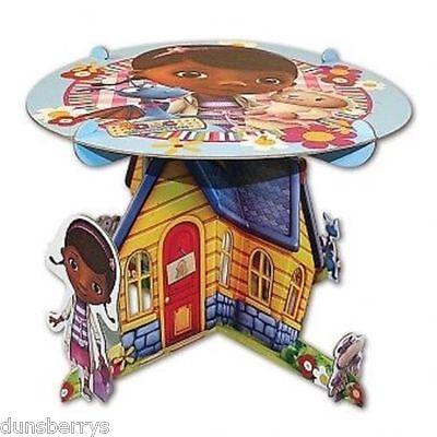 DOC McSTUFFINS BIRTHDAY PARTY CENTREPIECE/STURDY CAKE STAND/TABLE DECORATION ](Doc Mcstuffins Table Decorations)