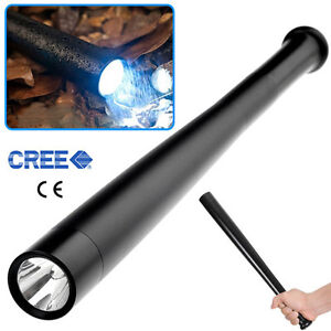 OZ J CREE Q5 LED Baseball Bat 3 Mode Long Shape Torch Security Flashlight