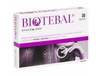BIOTEBAL 30 tabs Biotinum 5 mg Healthy Hair Nails Skin - Zdrowe Wlosy Paznokcie. Taniej niz eBay.
