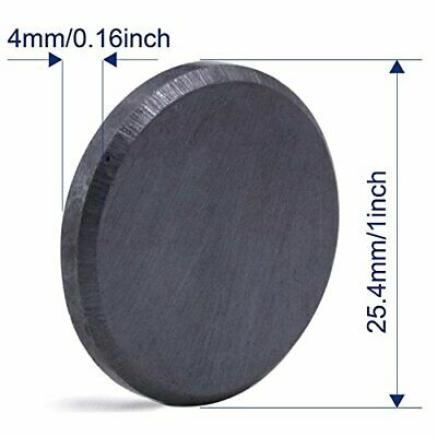 Ceramic Industrial Magnets 1 Inch 25mm Round Disc Ferrite Magnets Bulk Crafts