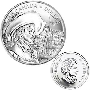 2008 Brilliant Uncirculated Dollar Windsor Region Ontario image 1