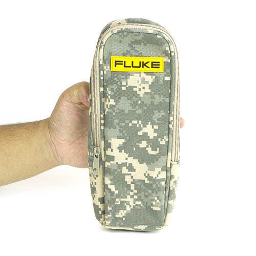Fluke CAMO-C37 Soft Camo Carrying Case, Zipper, Belt Loop Inner Pocket
