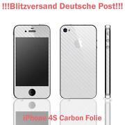 iPhone 4 Carbon Folie