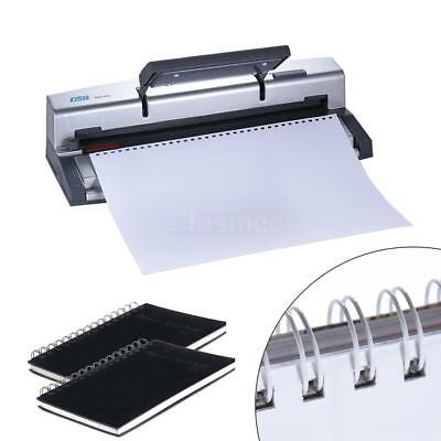 3432 Holes 45 Sheets Comb Binding Machine Paper Punch Binder Book Puncher A4