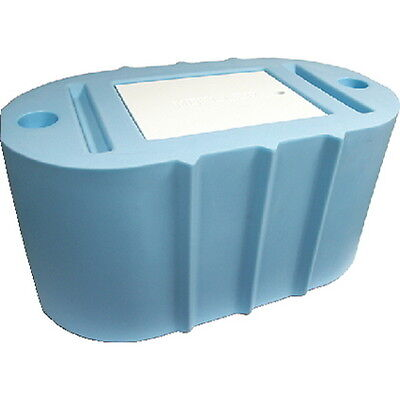 Light Blue 40 Gallon Oval Livewell or Bait Tank for Boats