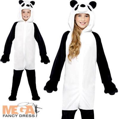 Panda Bear Kids Fancy Dress Animal Story World Book Day Girls Boys Child Costume](Panda Bear Costume Kids)