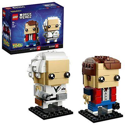 Marty Und Doc (LEGO BrickHeadz 41611 Marty McFly und Doc Brown)