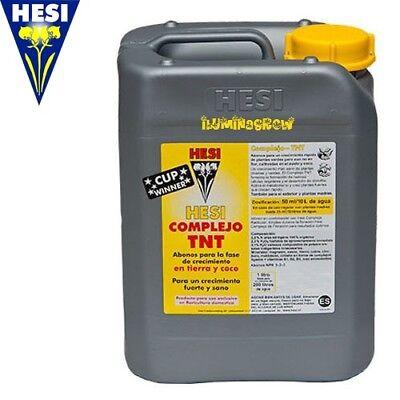 Hesi Complejo TNT 5L Abono Crecimiento para Tierra y Coco, fertilizante