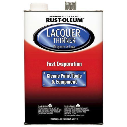 Rust-Oleum 253309 1 Gallon 300 Voc Lacquer Thinner, Acetone/Methanol/Toluene