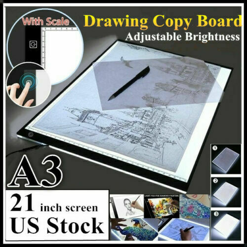 Super Large A3 21inch Led Light Box Diamond Painting Board Drawing Tracing Pad