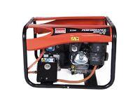 Lpg and petrol generator