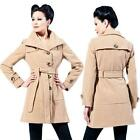Womens Single Breasted Coat