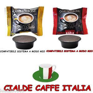 Caffe-Borbone-200-Capsule-100-Oro-100-Rosse-Compatibili-Lavazza-a-Modo-Mio