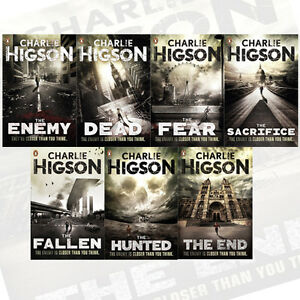 Charlie Higson's 7 Books Collection The Enemy Series (The End, The Hunted ) NEW