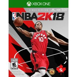 Nba2k18 for Xbox one like new