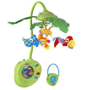 Rainforest™ Peek-a-Boo Leaves Musical Mobile™ from Fisher Price West Island Greater Montréal image 2